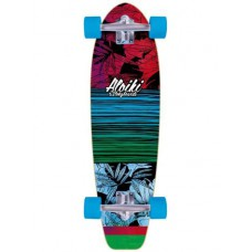 Mini Longboard Completa Aloiki Jungle 30""