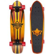 """Mini Longboard Completo Dusters Keen Rojo 31"""""""