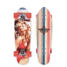 "Mini Longboard Completo Dusters Farrah Fawcett 28.375"""
