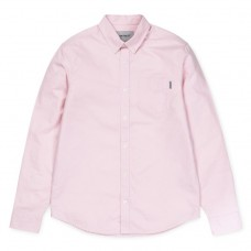 Camisa Carhartt Button Down Pocket Rosa