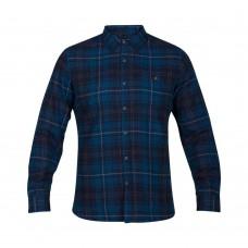 Camisa Hurley M Kurt Woven Azul