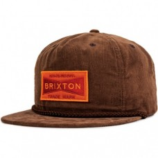Gorra Brixton Fuel Snap Marron