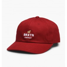 Gorra Brixton Peabody Rojo Oscuro