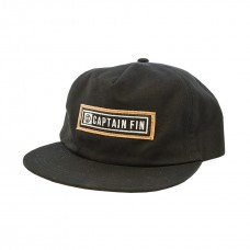 Gorra Captain Fin Compressed Negra