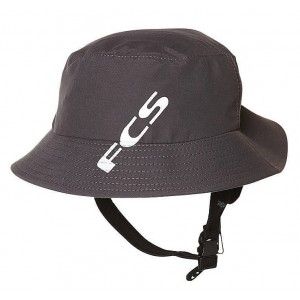 Gorro Surf FCS Bucket Hat Gun Metal