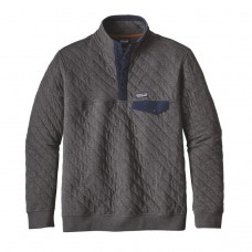 Pullover Patagonia Quilt Snap Gris Oscuro