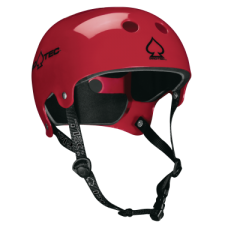 Casco Protec Old School Wake Rojo