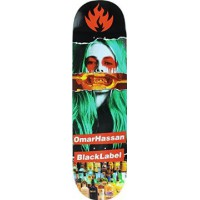 Tabla Skate Black Label Hassan Faded Beauty 8.38