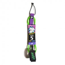 Leash Catch Surf Beater 5' Pro Comp Verde