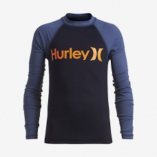 Lycra Surf Hurley One & Only Lila Azul Fuerte