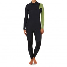Traje Neopreno Billabong Furnace Comp 4/3 Chest Zip Verde