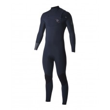Traje Neopreno Rip Curl Dawn Patrol 4/3 Chest Zip Azul