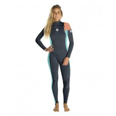 Traje Neopreno Rip Curl Dawn Patrol 4/3 Chest Zip Peach