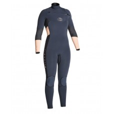 Traje Neopreno Rip Curl Flash Bomb 4/3 Chest Zip Peach