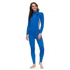 Traje Neopreno Roxy Syncro 4'3 Chest Zip Azul
