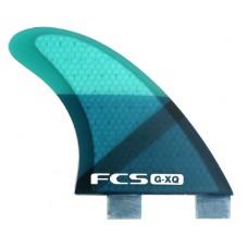 Quillas Surf FCS G-XQ Quad Azules