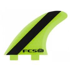 Quillas Surf FCS ARC PC Tri Fin Verdes