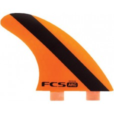 Quillas Surf FCS ARC PC Tri Fin Naranjas