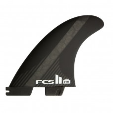 Quillas Surf FCS 2 Firewire PC Carbon Negras