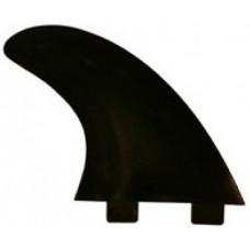 Quillas Surf de plastico Negras