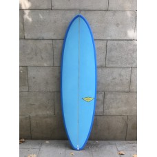 Tabla Surf Haleiwa Evolutiva 6'8 Azul