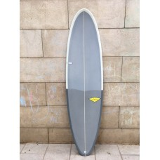 Tabla Surf Haleiwa Evolutiva 6'8 Gris