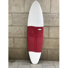 Tabla Surf Tactic Epoxy Evolutiva 6'8 Roja