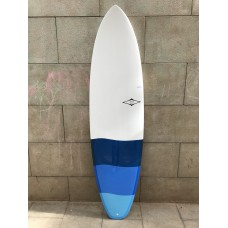 Tabla Surf Tactic Epoxy Evolutiva 6'8 Tri Azul