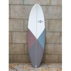 Tabla Surf Tactic Evolutiva 7,4 Granate Gris Azul