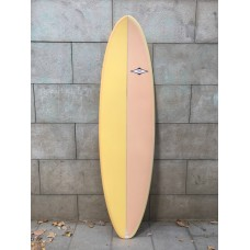 Tabla Surf Tactic Evolutiva 6'8 Amarillo Rosa