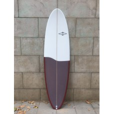 Tabla Surf Tactic Evolutiva 6'8 Roja