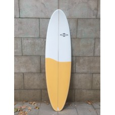 Tabla surf Tactic Evolutiva 6'8 Amarilla (2)