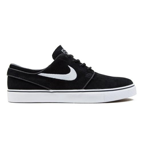 antes de Principiante sinsonte  Zapatillas Nike Stefan Janoski Negras Blancas
