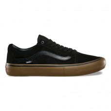 Zapatillas Vans Old Skool Pro Negras Marrones