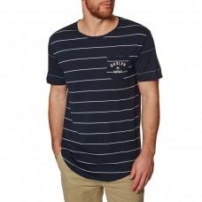Camiseta Quiksilver Caper Rocks Azul Fuerte