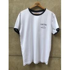 Camiseta Tactic Ringer Blanca