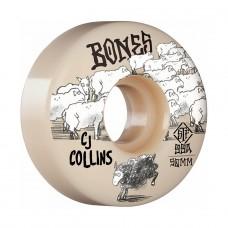 Ruedas Skate Bones Collins Black SH 99A 52MM