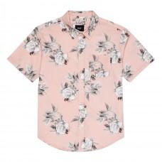 Camisa HUF Widower Woven Shirt Rosa