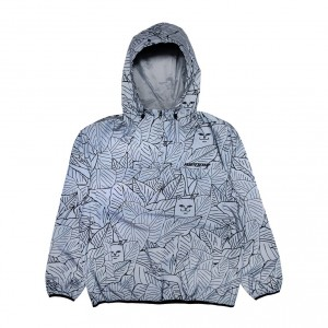 Chaqueta Rip N Dip Nermal Leaf Reflective Anorak Jacket (Reflective)