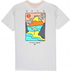 Camiseta RVCA Isthmus Blanca