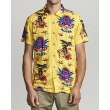 Camisa Manga Corta RVCA Dmote Tiki