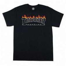 Camiseta Manga Corta Thrasher Scorched