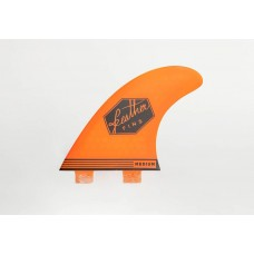Quillas de surf Feather Fins Ultralight Dual Tab Naranja