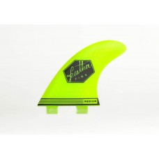 Quilla de surf FEATHER FINS ULTRALIGHT DOUBLE TAB amarillas