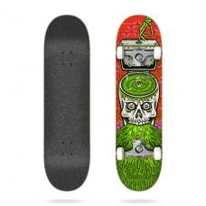 """Tabla Skate Completa Cruzade Skateboards Skull Swrill 8"""""""