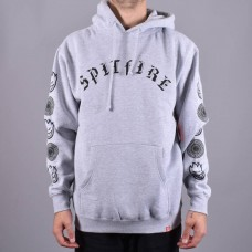 Sudadera Spitfire Old E Combo Gris