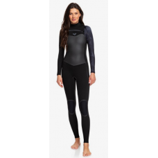 Traje Neopreno Roxy Syncro Plus 4'3 Chest Zip Negro 2020