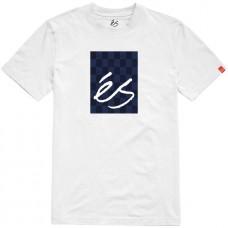 Camiseta Manga Corta És Spot Check Blanca