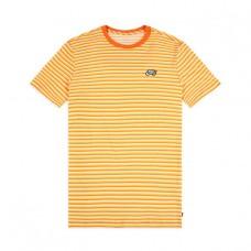 Camiseta Manga Corta Nike SB Stripe Tee Amarilla Naranja
