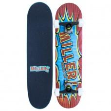Tabla Skate Completa Miller Comic 7.75''